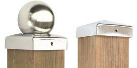 Pfostenabdeckungen für Holzpfosten