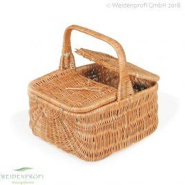 Picknickkorb Weide, rechteckig, 1 Henkel
