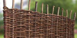 Weidenzäune Serie BALDO - ohne Rahmen
